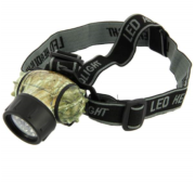 Linterna NGT 19 Led Headlight Camo