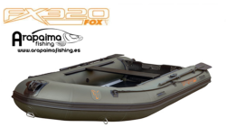 FOX FX 320 INFLATABLE BOAT INC. HARD MARINE PLY FLOOR