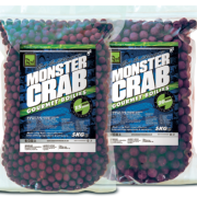FORMATO AHORRO! 5 KG ROD HUTCHINSON Boilie MONSTER CRAB 20 mm